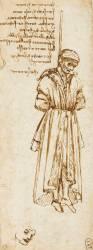 Etude d'un pendu (De Vinci Léonard) - Muzeo.com