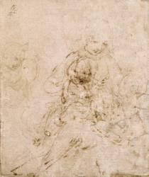 Vierge à l'enfant et saint Jean (De Vinci Léonard) - Muzeo.com