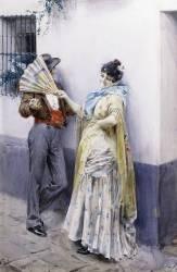 Flirtation (Anders Leonard Zorn) - Muzeo.com