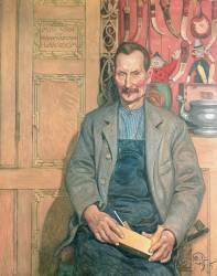 Hans Arnbom, The Carpenter (Larsson Carl) - Muzeo.com