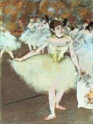 On Stage (Degas Edgar) - Muzeo.com