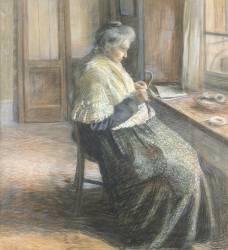 The Mother (Umberto Boccioni) - Muzeo.com