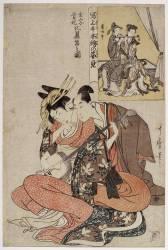 Musician couple, Xuanzong et Yang Guifei (Kitagawa Utamaro) - Muzeo.com