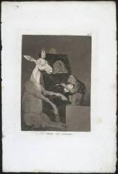 Les Caprices de Goya. Planche 41 :