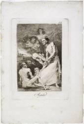 Les Caprices de Goya. Planche 69 :