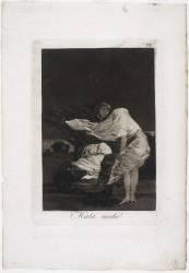 Les Caprices de Goya. Planche 36 :