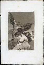 Les Caprices de Goya. Planche 48 :