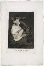 Les Caprices de Goya. Planche 29 :