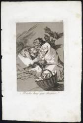 Les Caprices de Goya. Planche 45 :