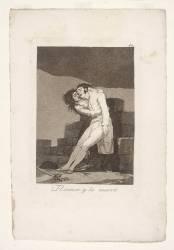 Les Caprices de Goya. Planche 10 :