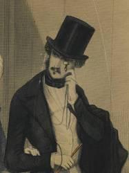 Les modes parisiennes, 1846 : gravure de mode N°191 (anonyme) - Muzeo.com