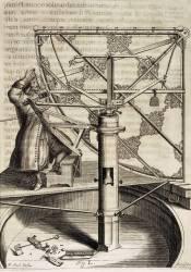 Machina celestis de Helvétius l'astronome. (Andreas Stech) - Muzeo.com