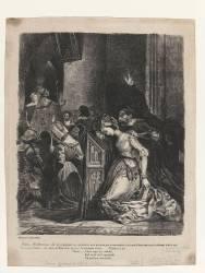 Marguerite à l'église (Delacroix Eugène) - Muzeo.com