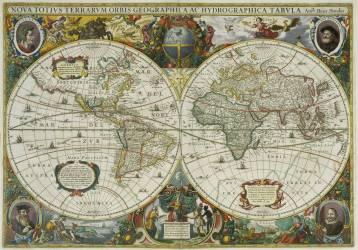 Planishphere (Hondius Hendrik le jeune) - Muzeo.com