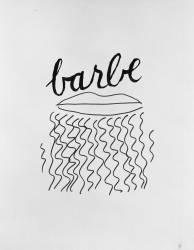 Alphabet pour adulte : Barbe (Man Ray) - Muzeo.com