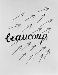 Alphabet pour adulte : Beaucoup (Man Ray) - Muzeo.com