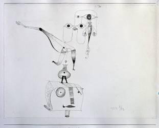 A Caprice of Balance (Ein Gleichgewicht-Capriccio ou Balance Capriccio) (Paul Klee) - Muzeo.com