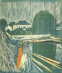 Girls on the Bridge (Munch Edvard) - Muzeo.com