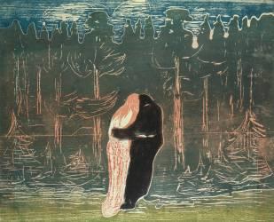 Lovers (Munch Edvard) - Muzeo.com