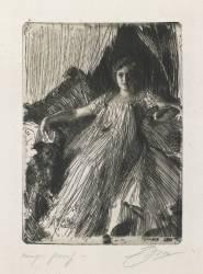 Maud Cassel (Zorn Anders Leonard) - Muzeo.com