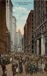 Curb Market, Broad Street, New York City (anonyme) - Muzeo.com
