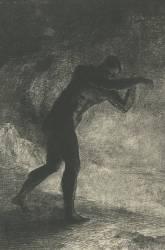 Et l'homme parut (Redon Odilon) - Muzeo.com