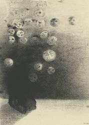 N'y-a-t-il pas un monde invisible (Redon Odilon) - Muzeo.com
