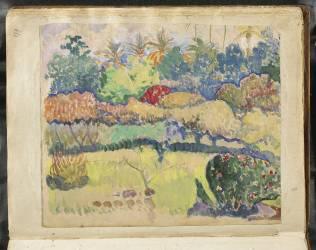 Album Noa-Noa : Paysage Polynésien (Gauguin Paul) - Muzeo.com