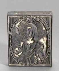 Ange gardien en médaillon (anonyme) - Muzeo.com