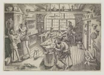 Atelier d'orfèvres (Delaune Etienne) - Muzeo.com