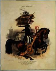 Caricature de Liszt (Lorentz Alcide Joseph) - Muzeo.com