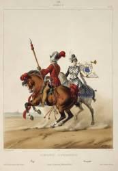 Compagnies d'ordonnance, sous le règne de Henri II, 1549 (David Gustave,D'après Dunoyer...) - Muzeo.com
