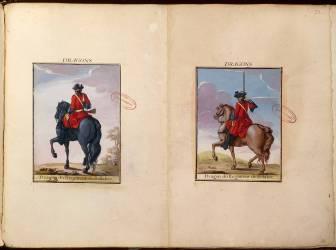Dragons du régiment de Belabre (Delaistre Jacques-Antoine) - Muzeo.com