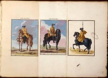 Dragons du régiment de Goesbriand (Delaistre Jacques-Antoine) - Muzeo.com
