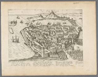 Entrée du duc de Guise à Marseille après la conspiration de Libertat, 16 février 1596 (Hogenberg Frans) - Muzeo.com
