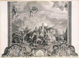 Faste des Puissances voisines de la France (Massé Jean-Baptiste ,D'après...) - Muzeo.com