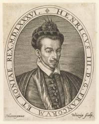 Henri III (Wierix Hieronymus) - Muzeo.com