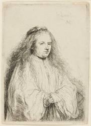 La petite mariée juive (Rembrandt Harmensz van Rijn) - Muzeo.com