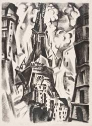 La Tour Eiffel (Robert Delaunay) - Muzeo.com