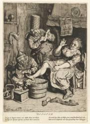 La ventouse (Dusart Cornelis) - Muzeo.com