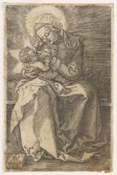 La Vierge donnant le sein à l'Enfant-Jésus (Dürer Albrecht) - Muzeo.com