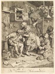 Le cordonnier renommé (Dusart Cornelis) - Muzeo.com