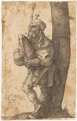 Le joueur de cornemuse (Dürer Albrecht) - Muzeo.com