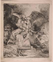 Le Sacrifice d'Abraham (Rembrandt Harmensz van Rijn) - Muzeo.com
