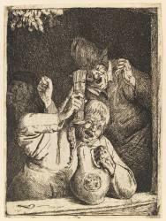Les crieurs (Dusart Cornelis) - Muzeo.com