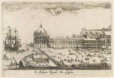 O Palacio Royal de Lisboa (Stoop Dirk) - Muzeo.com