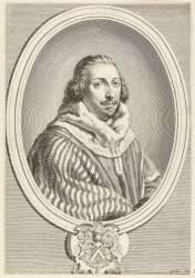 Portrait de Jean Bouchu, 1er président au Parlement de Dijon (Poilly Nicolas de, l'Ancien) - Muzeo.com