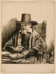 Portrait du docteur Arnold Tholinx ; 1 er état (Rembrandt Harmensz van Rijn) - Muzeo.com