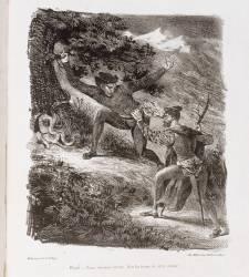 Sans titre (Delacroix Eugène) - Muzeo.com