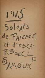 Soldats de Faience (Appolinaire Guillaume) - Muzeo.com